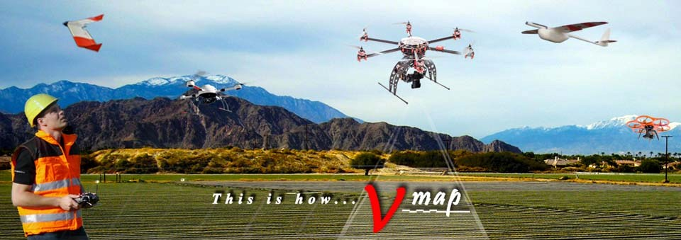 Micro Aerial Projects using small uavs and the v-map system for agricultural and environmental applications