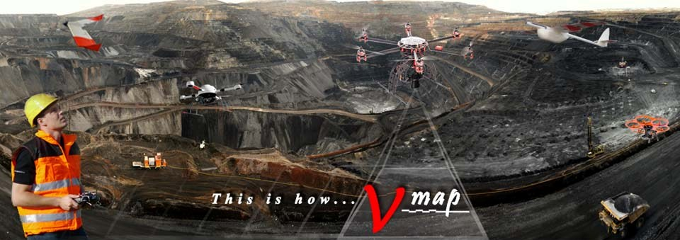 Micro Aerial Projects surveying and mapping mines with small uavs and the V-Map precise aerial mapping system