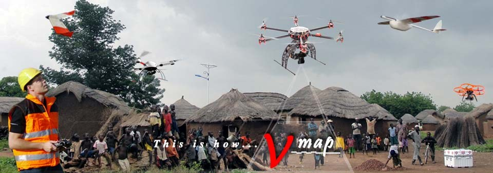 Micro Aerial Projects using different uavs and the V-Map aerial mapping system for international development projects