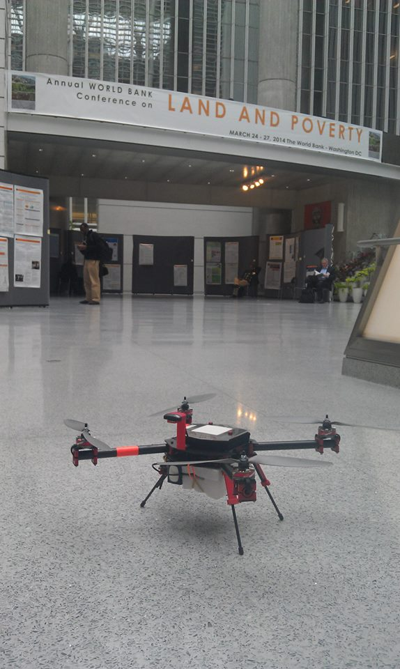 the Steadidrone used for V-mapping