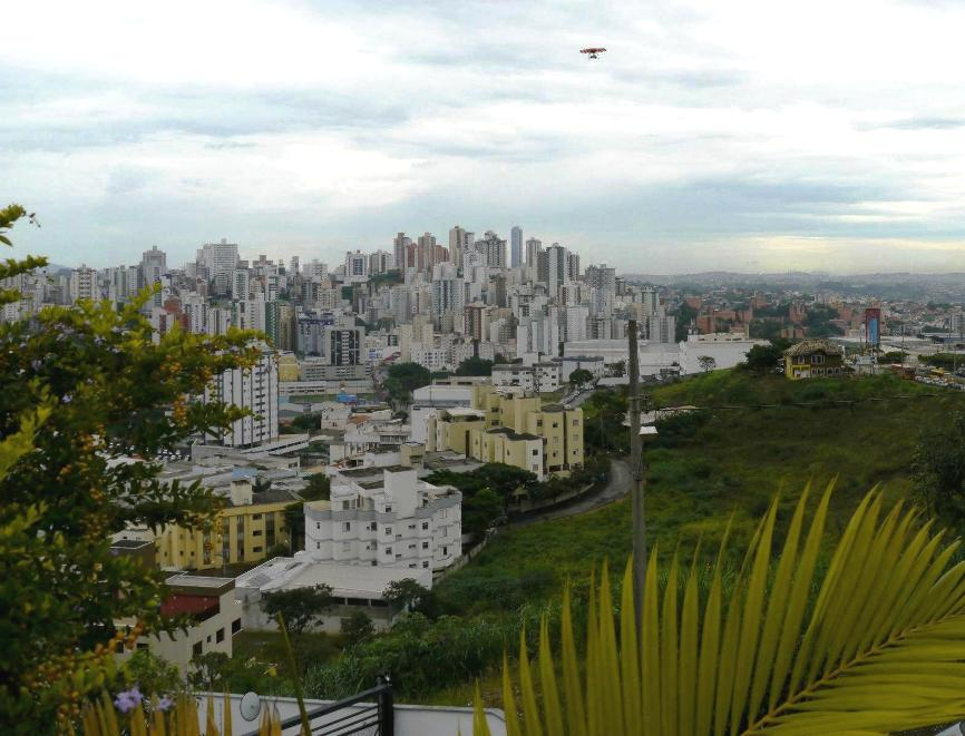 aerial photography with a small uav in Brazil