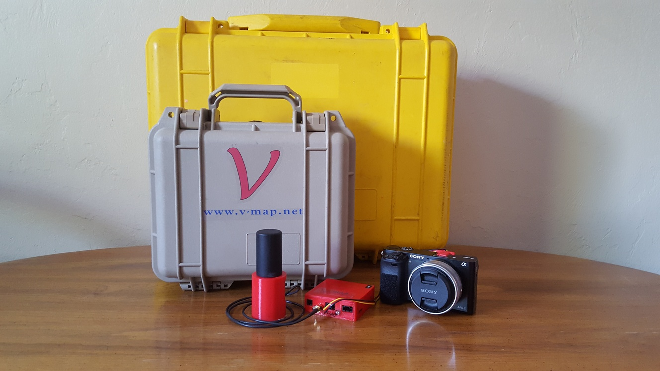 Packing 20Hz dual frequency phase GNSS base and rover V-Map technology into a case a quarter the size for one main brand conventional GNSS rover
