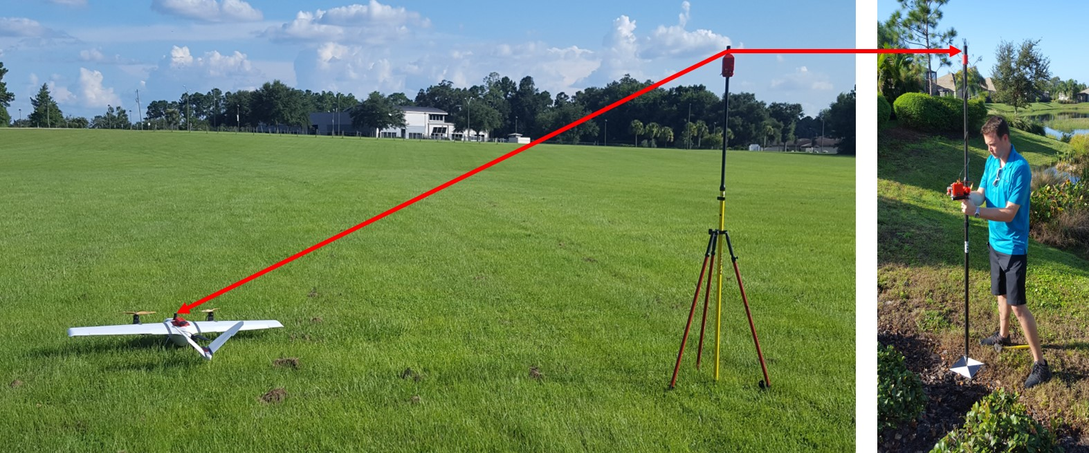 GNSS PPK support for drone mapping, V-Map